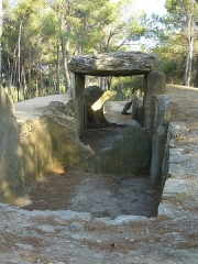 Dolmen des Fades ou Palet de Roland -  The biggest dolmen in southern France, stumbled upon accidentally as we drove home one evening