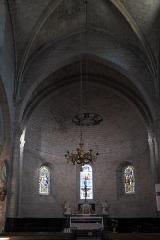 Ancienne abbaye Saint-Hilaire - Deutsch: Katholische Pfarrkirche, ehemalige Abteikirche der Abtei Saint-Hilaire in Saint-Hilaire im Département Aude (Region Languedoc-Roussillon/Frankreich), Chor