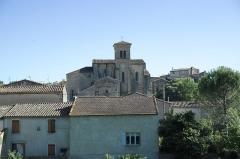 Ancienne abbaye Saint-Hilaire - Deutsch: Katholische Pfarrkirche, ehemalige Abteikirche der Abtei Saint-Hilaire in Saint-Hilaire im Département Aude (Region Languedoc-Roussillon/Frankreich)