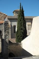 Ancienne abbaye Saint-Hilaire - Deutsch: Ehemalige Abtei Saint-Hilaire in Saint-Hilaire im Département Aude (Region Languedoc-Roussillon/Frankreich)
