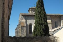 Ancienne abbaye Saint-Hilaire - Deutsch: Ehemalige Abtei Saint-Hilaire in Saint-Hilaire im Département Aude (Region Languedoc-Roussillon/Frankreich), Blick auf die Kirche