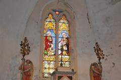 Eglise Sainte-Anne, située dans le village - Français:   Vitraux de l\'église Sainte-Anne de La Tourette-Cabardès