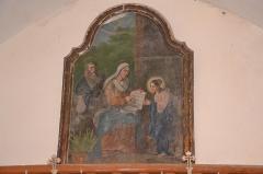 Eglise Sainte-Anne, située dans le village - Français:   Tableau dédiée à Sainte-Anne (église de La Tourette-Cabardès)