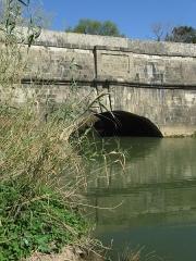 Canal du Midi : Aqueduc du Répudre - Deutsch: Canal du Midi: Kanalbrücke über den Répudre (Pont de Répudre) in Frankreich