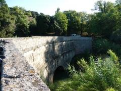 Canal du Midi : Aqueduc du Répudre - English:   Repudre Aqueduct on the Canal du Midi