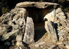 Dolmen de la Jagantière ou Palet de Roland -  Dolmen de la Jargantière (Villeneuve-Minervois, Aude)