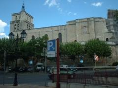 Ancienne cathédrale Saint-Jean-Baptiste -  St John the Baptist Cathedral in Alès in Gard, in France