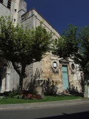Ancienne cathédrale Saint-Jean-Baptiste -  Alès,formerly Alaïs in the departement of Gard in the region Languedoc-Roussillon in southern France. Its post code is F30100 and INSEE 30007.  La cathédrale est édifiée sur les restes d'une ancienne église carolingienne, elle-même située sur l'emplacement d'un temple gallo-romain.