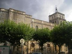 Ancienne cathédrale Saint-Jean-Baptiste -  Cathédrale Saint-Jean-Baptiste d'Alès
