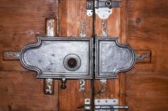 Grand Temple -  Large door lock.
