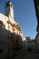 Eglise paroissiale Saint-Pancrace - Français:   Eglise en Aramon 3.