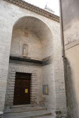 Eglise paroissiale Saint-Pancrace - Français:   Eglise en Aramon 5.