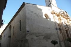 Eglise paroissiale Saint-Pancrace - Français:   Eglise en Aramon.