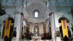 Eglise Notre-Dame-des-Pommiers - Français:   choeur et début des 2 bras du transept