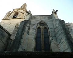 Eglise Saint-Paul, ancienne église des Cordeliers - Français:   clocher et chevet