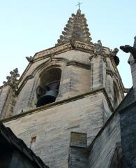 Eglise Saint-Paul, ancienne église des Cordeliers - Français:   face est du clocher