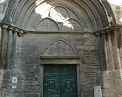 Eglise Saint-Paul, ancienne église des Cordeliers - Français:   colonnettes romanes provenant de l\'édifice du XIIe siècle