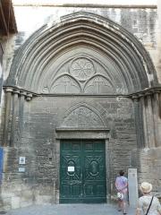 Eglise Saint-Paul, ancienne église des Cordeliers - Français:   portail de la façade ouest