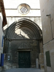 Eglise Saint-Paul, ancienne église des Cordeliers - Français:   Vue globale de la façade ouest