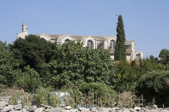 Eglise Saint-Saturnin -  Church Saint Saturnin seen from the path of Fouillaquet.