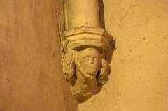 Eglise Saint-Saturnin - English:  Corbel on the chapel Saint Joseph, on left.