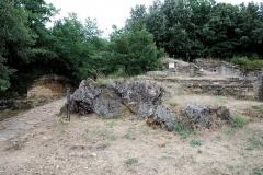 Oppidum préromain et gallo-romain - Français:   Porte de Trajan, Oppidum de Gaujac (Gard)