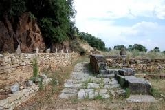 Oppidum préromain et gallo-romain - Français:   Temple d\'Apollon, Oppidum de Gaujac (Gard)
