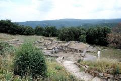 Oppidum préromain et gallo-romain - Français:   Thermes, Oppidum de Gaujac (Gard)