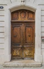 Immeuble, dit hôtel de Lagorce - English: Portal of the Hôtel de Lagorce at 2 place Bouquerie in Nîmes, Gard, France