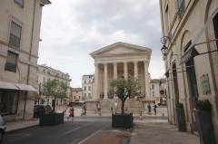 Maison Carrée - La Maison Carrée vu du Nord , Nîmes.