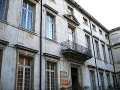 Ancien palais épiscopal -  Ancien palais épiscopal de la ville de Nimes  Auteur: R. BENEZET