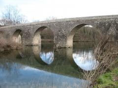 Pont Charles-Martel sur la Cèze - English: La Roque-sur-Cèze - Charles-Martel bridge