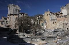 Ancienne abbaye de Saint-Gilles - English: The