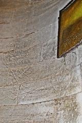 Ancienne abbaye de Saint-Gilles - Deutsch: Abteikirche St-Gilles, Wand Spindeltreppe