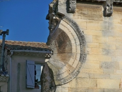 Ancienne abbaye de Saint-Gilles - détail de la Vis de Saint Gilles (30)