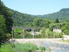 Pont sur le Gardon -  Tne Gardon de Saint-Jean at Saint-Jean-du-Gard.