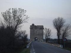Tour Carbonnière -   La tour Carbonniere face Sud Auteur: R. BENEZET   Date: 12 Mars 2007