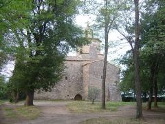Chapelle Notre-Dame-de-Mayran - Français:   Ermitage de Mayran dans la commune de Saint-Victor la Coste. La chapelle date du XIIème siècle.