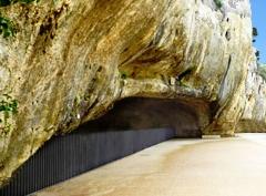 Abri préhistorique de la Salpétrière - Français:   Grotte de la Salpétrière