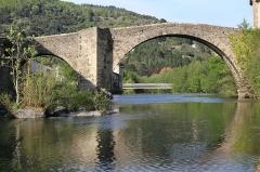 Vieux pont -  Le vieux pont au Vigan