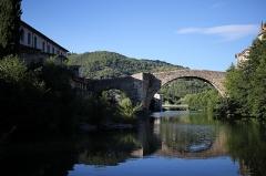 Vieux pont -  Le Vigan - Vieux pont de pierre