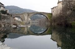 Vieux pont - Français:   Le Vieux Pont sur l\'Arre au Vigan.