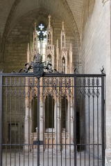 Ancienne chartreuse du Val-de-Bénédiction -  Chapel of the Mausoleum Innocent VI.