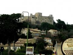 Château - Français:   Château et village
