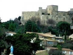 Château - Français:   Gros plan du château
