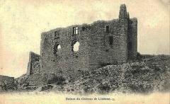 Château - Français:   Ruines du château
