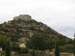 Ruines du Castellas - English:   Saint-Victor-la-Coste