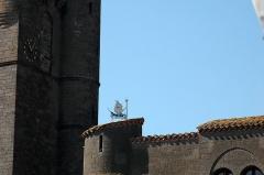 Ancienne cathédrale Saint-Etienne - Agde, détail de la Cathédrale Saint-Etienne. Photo prise le 31/07/06 par Harrieta171