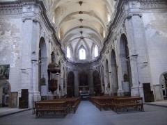 Eglise paroissiale Saint-Sauveur, ancienne abbatiale - English: Aniane (Hérault, Fr) church interior