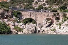 Pont sur l'Hérault, dit Pont du Diable (également sur commune de Saint-Jean-de-Fos) - Deutsch: Pont du Diable (Hérault), Hans-Dieter Niepötter, www.niepoetter.de